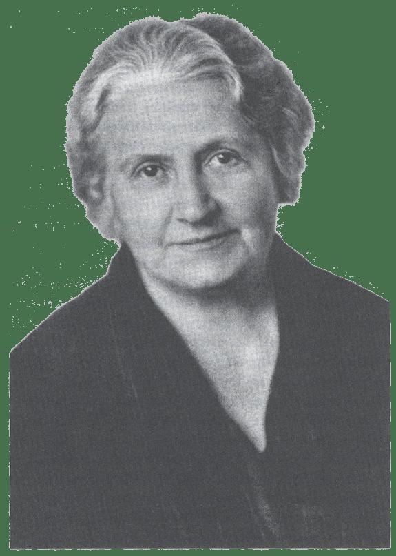 maria montessori portrait - Maria Montessori Lebenslauf