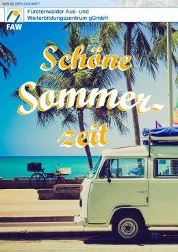 FAW_Schöne Sommerzeit_2018_Plakat