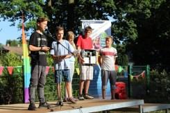 Montessori Oberschule Hangelsberg_Praxislernen in schuleigenen Werkstätten_Projektvorstellung und Bühnenauftritt_Schuljahr 2017-18