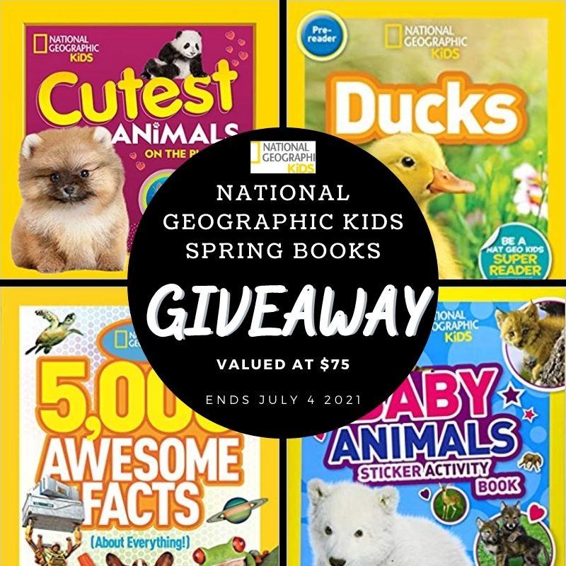 National Geographic Kids Spring Books #Giveaway Ends 7/4 @NGKidsBks @HomeJobsByMom