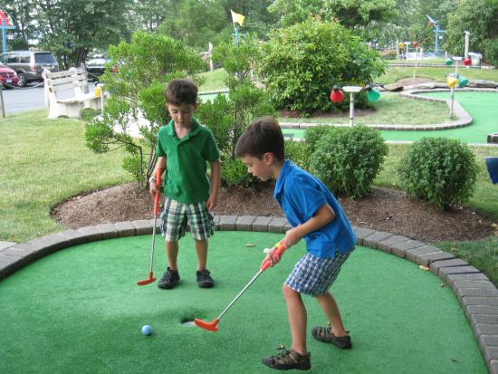 The 18th Hole of Miniature Golf