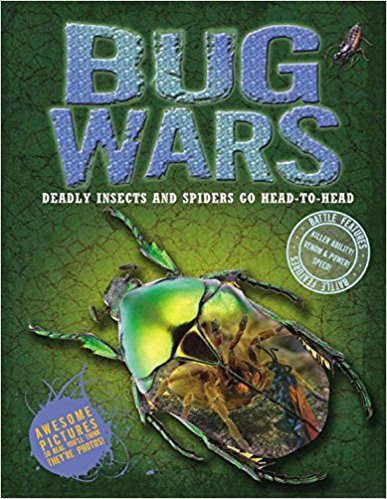 Book Review:  Deadly Insects and Spiders Go Head-To-Head