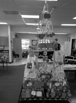 Ribbon & Straws Help Montessori Students Build Teamwork & Biome Pyramids