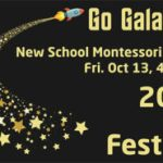 2017 fall festival go galactic graphic dates title rocket stars dark background