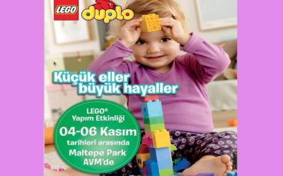KÜÇÜK ELLER BÜYÜK HAYALLER LEGO ETKİNLİĞİ