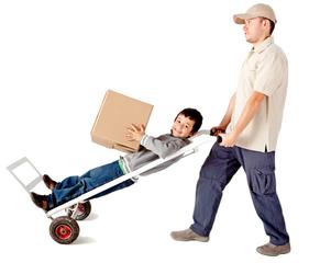 çocukla taşınmak