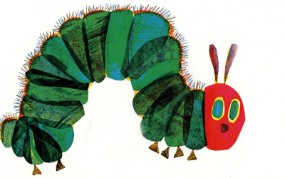 EL İZİ AÇ TIRTIL YAPIMI: A VERY HUNGRY CATERPILLAR