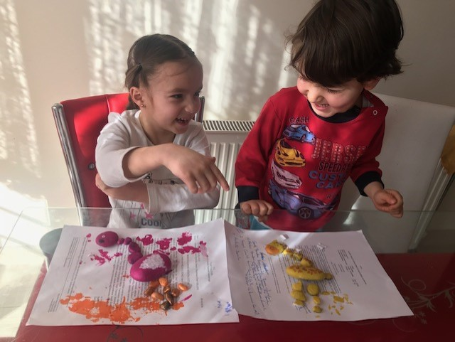 Tas Boyama Ile Hayvan Figurleri Montessori Etkinlikleri