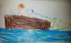 Tshishian story of how loon got its spots