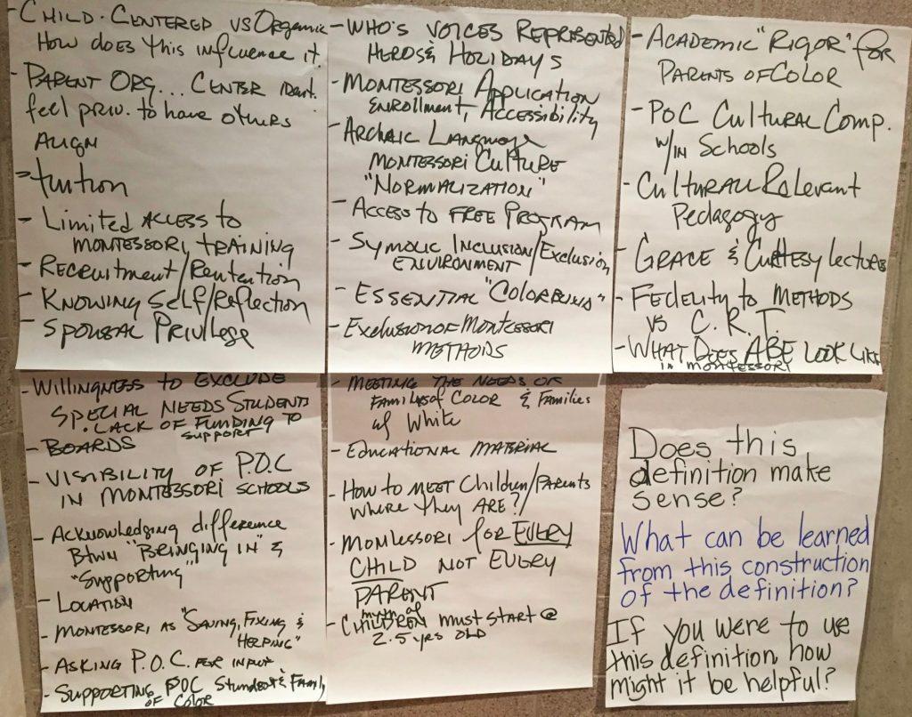 Antiracism brainstorm