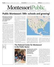 Print Edition of MontessoriPublic