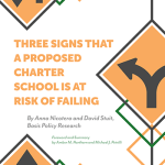 """Child-Centered"" Charters at Risk of Failure?"