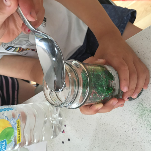 Dreams sensory jar