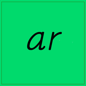ar sound with letters