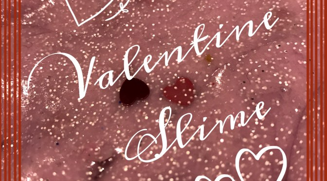 Valentines Slime UK Ingredients