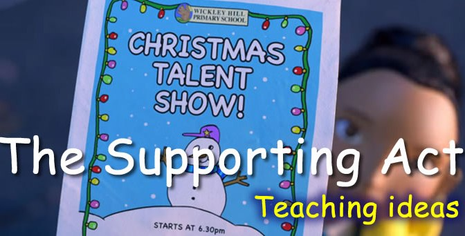 BBC The Supporting Act – Teaching ideas