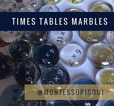 Times Tables marbles game