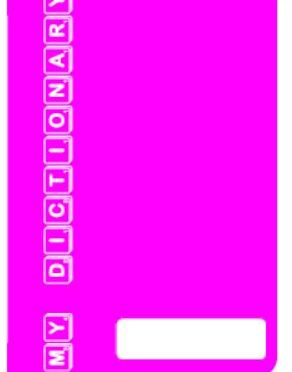Personal Dictionary – Pink