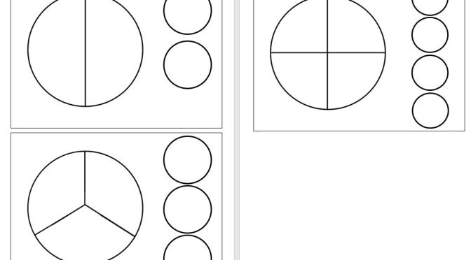 Fractions templates