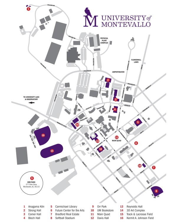 College of Fine Arts - The University of Montevallo