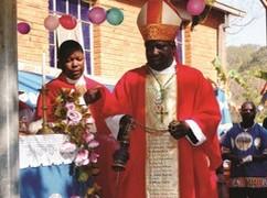 Resultado de imagen de Mons. Stima Monfort, Obispo de la diócesis de Mangochi,