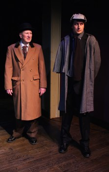The Game's Afoot - Dr. Watson (Paul Noga) and Sherlock Holmes (Matt Sims)