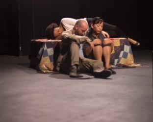 Kokoro, Gray, and Bel sleeping