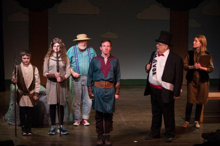 Militia, Dad, Mayor, and Jenkins