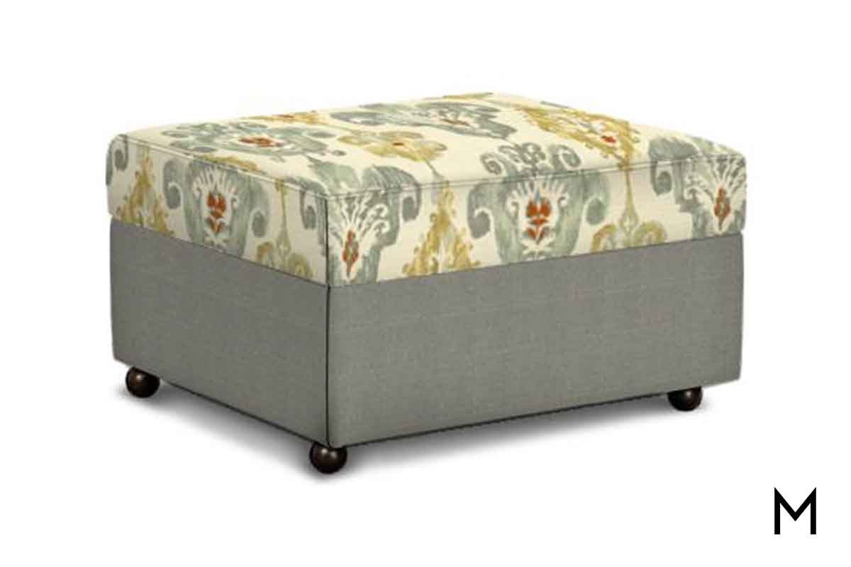 m collection mitsy lift top storage ottoman