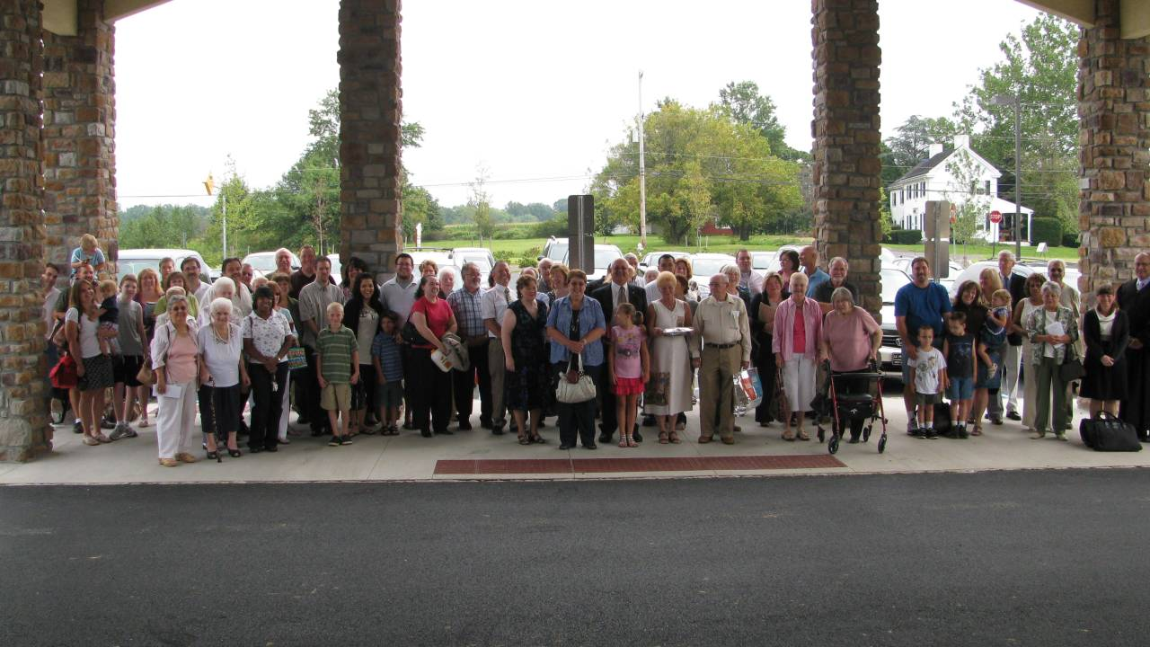 Our First Service – Sept. 2011