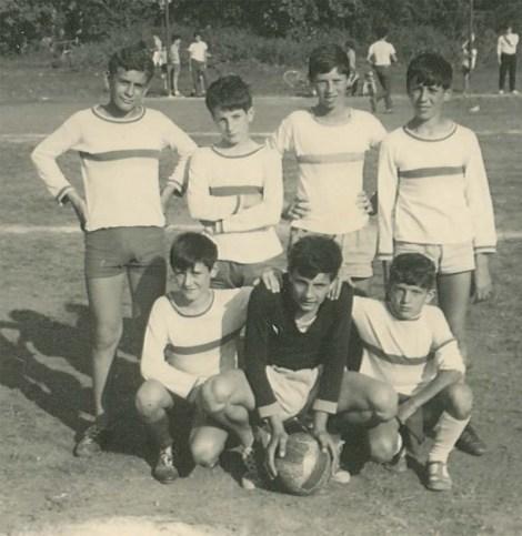 Torneo parrocchiale 1969 - squadra quartiere cina