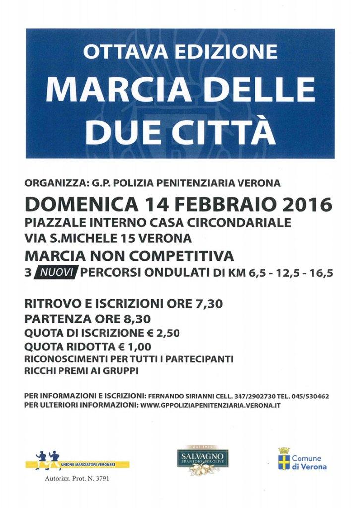 Unione Marciatori Veronesi Calendario.8 Edizione Marcia Delle Due Citta Www Montorioveronese It