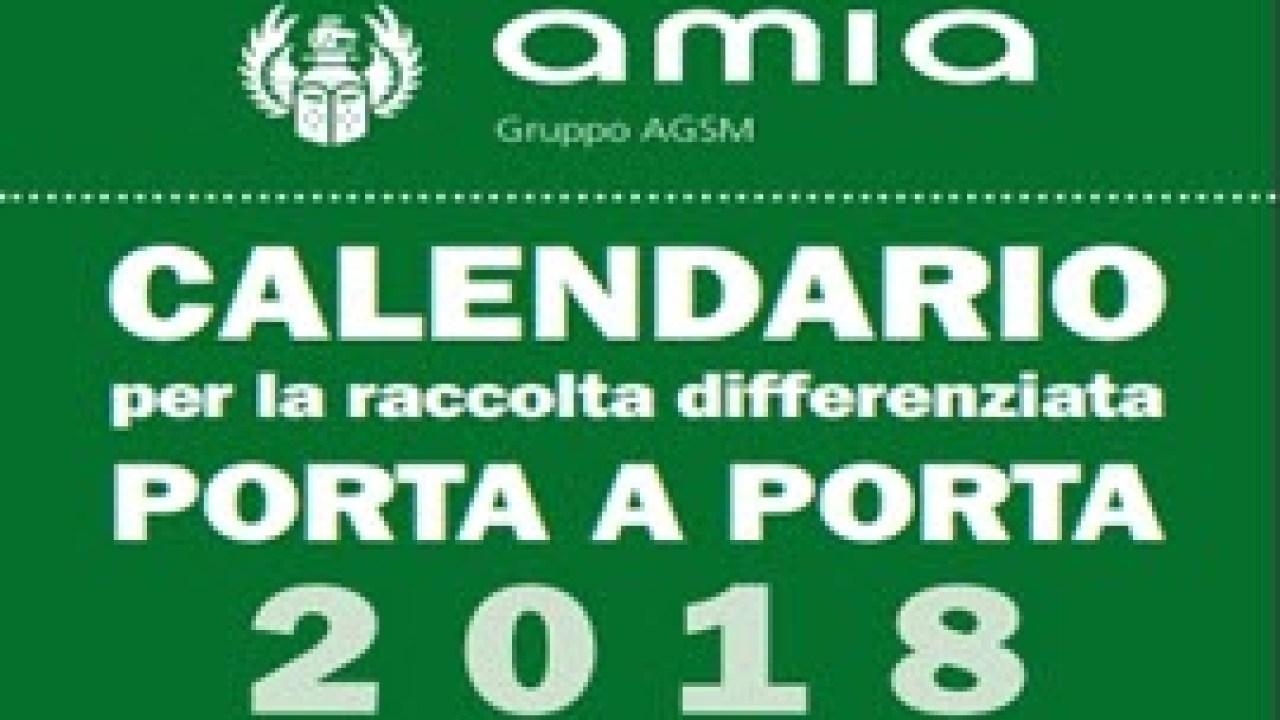 Calendario Amia Verona.Raccolta Porta A Porta Amia E Iniziato Il Calendario