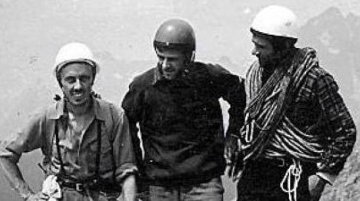 Milo Navasa, Franco Baschera e Claudio Dal Bosco