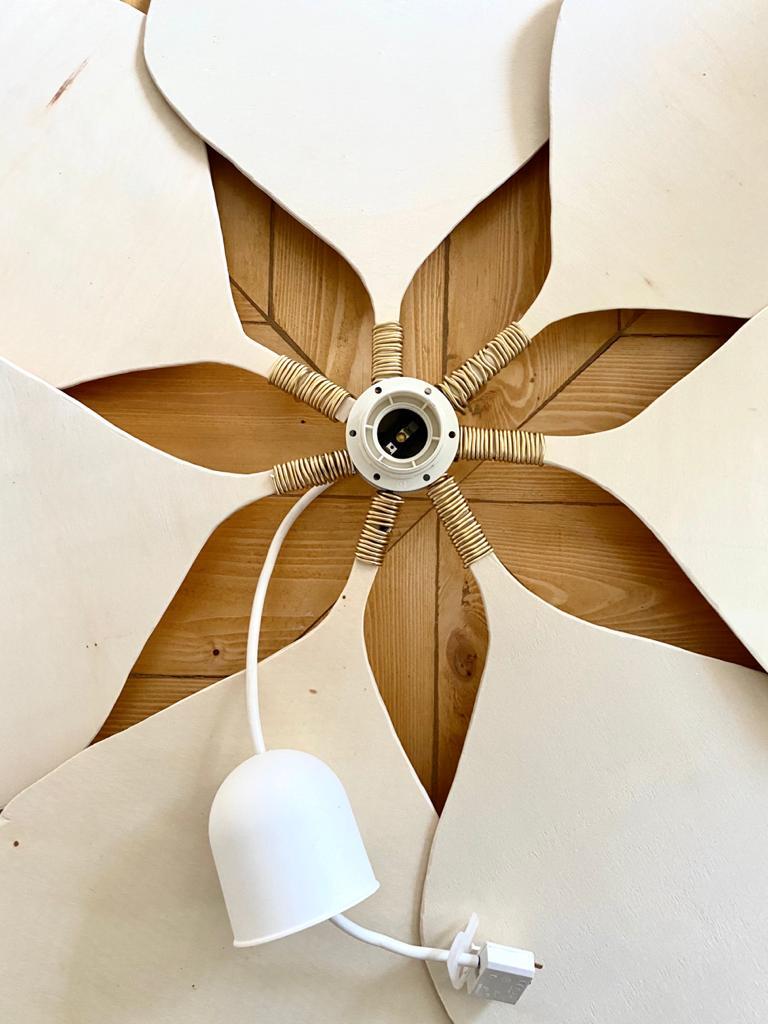 DIY Luminaire fleur