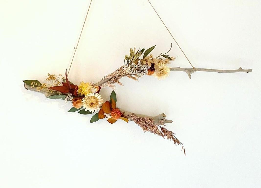 DIY °12 – Suspension fleurs séchées