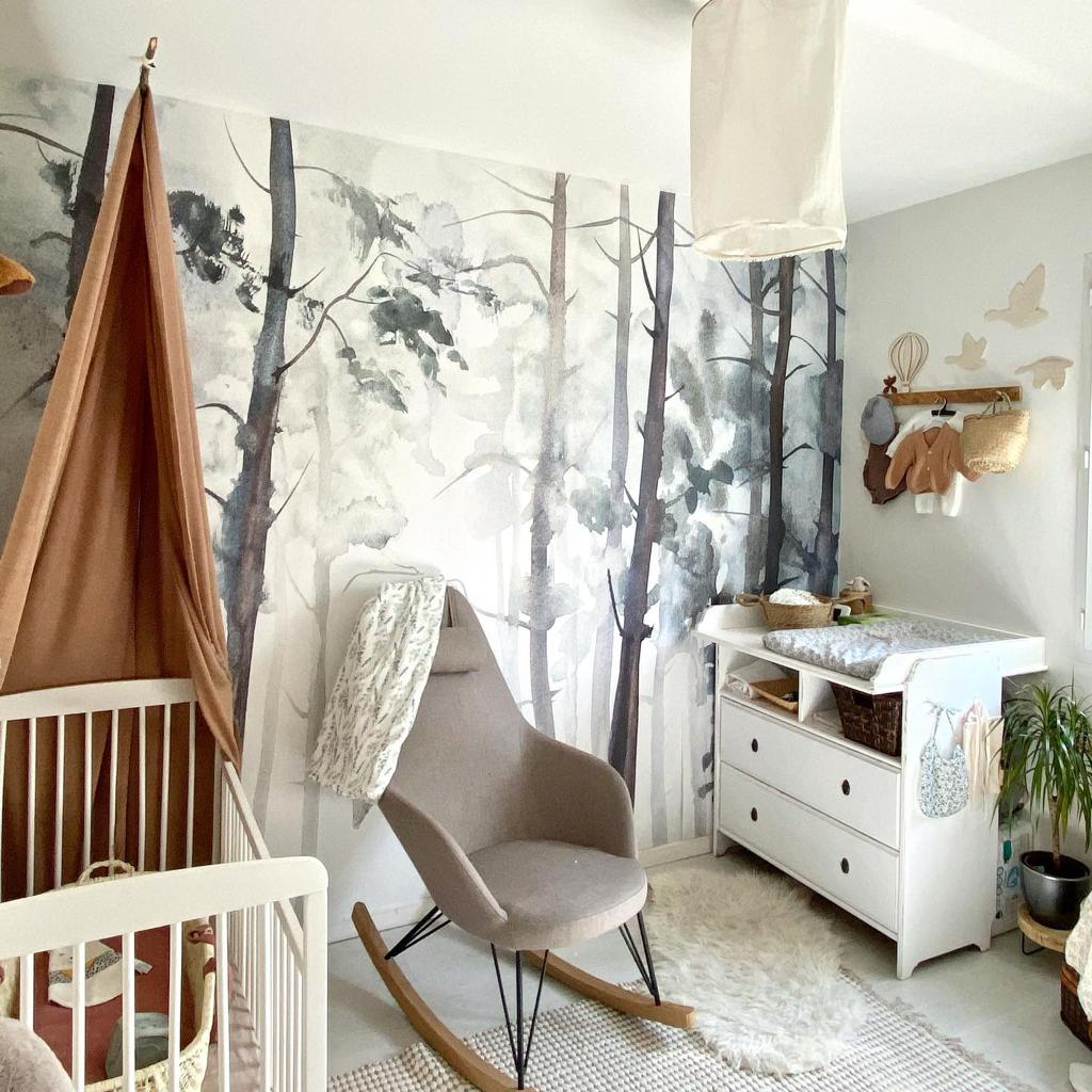 PROJET FORET | CHAMBRE BEBE