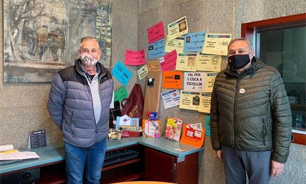 Mario Revilla guanya la panera de Ràdio Sant Fruitós