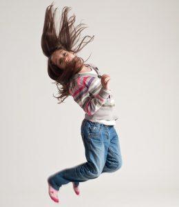 saut enfant hyperactivité