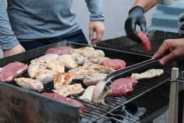 Barbecue for Cheltenham Festival