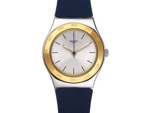 Montre Swatch BLUE PUSH (YLS191) pour FEMME