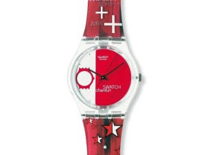 Montre Swatch 27 AVEL CANTUN SWATCH ROUGE GZ175 pour GARCON