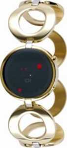 The One – ORL313R2 – Odins Rage – Montre Femme – Quartz Led – Cadran Noir – Bracelet Acier Doré