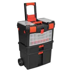 Generic * * Pull Alo à roulettes mécanique Ong Coffre à outils à roulettes Ool Coffre T'Boîte de tirer X Box