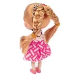 Montre Porte-clés Big Head cheveux bouclés fille poupée Style pendentif mignon Taille: 120x45x40mm