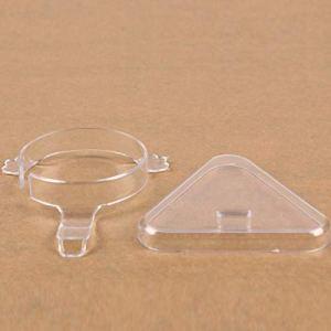 Acrylique Jade Bracelet Présentoir Transparent Bracelet Bracelet Montre Stand Bijoux Organisateur Rack Vitrine Titulaire A2 Type