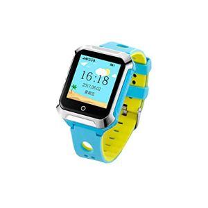 LJMR Montre Intelligente Enfants,Téléphone Intelligent pour Enfants Montre GPS positionnement Montre téléphone Mobile Anti-Perdu Bracelet de Suivi de Bracelet de Sport,Montre Intelligente pour enfa