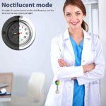 3 Pièces Montre Fob Infirmière Tournesol, Montre de Poche Suspendus Docteur avec Broche à Épingle à Clip Fixe pour Femmes Médecin Infirmière Paramédic