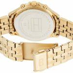 Tommy Hilfiger Femmes Multi-Cadrans Quartz Montre avec Bracelet en Or Plaqué 1781977