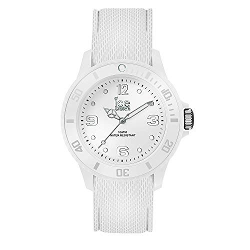 Ice-Watch – Ice Sixty Nine White – Montre Blanche Pour Femme avec Bracelet en Silicone – 014577 (Small)